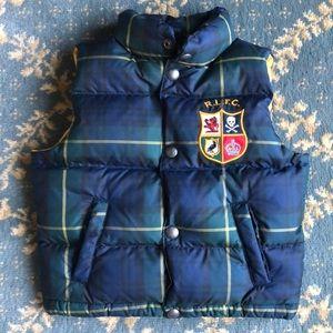 Boys Ralph Lauren quilted puffer vest